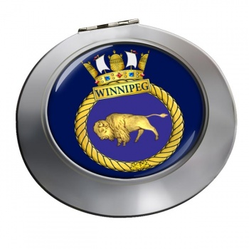 HMCS Winnipeg Chrome Mirror