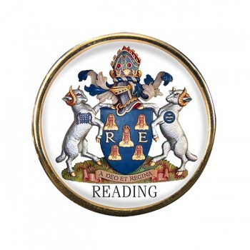 Reading (England) Round Pin Badge