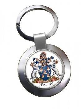 Reading (England) Metal Key Ring