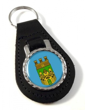 Recklinghausen (Germany) Leather Key Fob