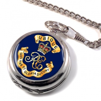 Royal Engineers Cypher (British Army) Pocket Watch
