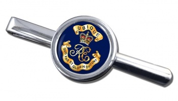 Royal Engineers Cypher (British Army) Round Tie Clip
