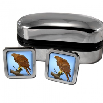 Red Kite  Square Cufflinks
