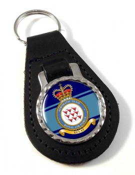 Red Arrows Aerobatic Team (Royal Air Force) Leather Key Fob