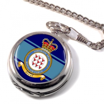Red Arrows Aerobatic Team (Royal Air Force) Pocket Watch