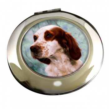 Irish Red and White Setter Mirror