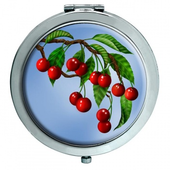 Cherry Tree Chrome Mirror