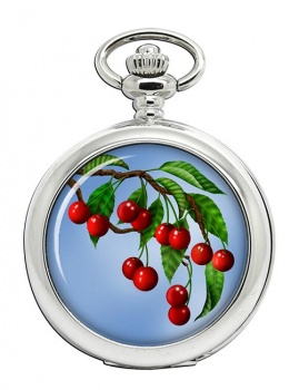 Cherry Tree Pocket Watch