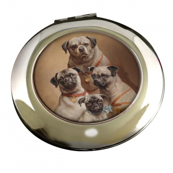 Family of Pugs by Carl ReichertMirror