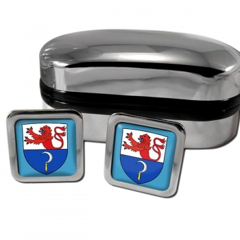 Remscheid Germany Square Cufflinks