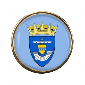 Renfrewshire (Scotland) Round Pin Badge