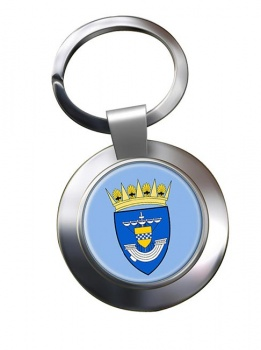 Renfrewshire (Scotland) Metal Key Ring
