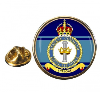 Reserve Command (Royal Air Force) Round Pin Badge
