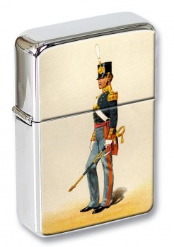Royal Foot Artillery 1846 Flip Top Lighter