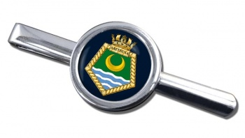 RFA Arethusa (Royal Navy) Round Tie Clip