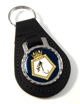 RFA Black Ranger (Royal Navy) Leather Key Fob