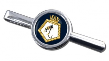 RFA Black Ranger (Royal Navy) Round Tie Clip