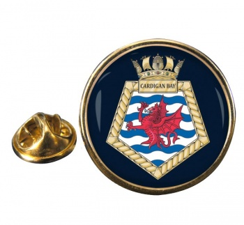 RFA Cardigan Bay (Royal Navy) Round Pin Badge