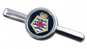 RFA Cardigan Bay (Royal Navy) Round Tie Clip