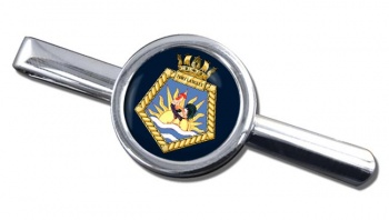 RFA Fort Langley (Royal Navy) Round Tie Clip