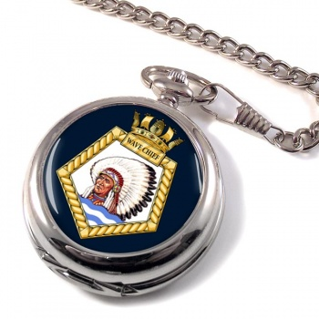 RFA Wave Chief (Royal Navy) Pocket Watch