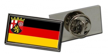 Rheinland-Pfalz (Germany_ Flag Pin Badge
