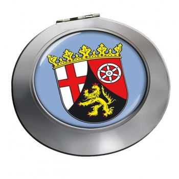 Rheinland (Germany) Round Mirror