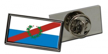 Argentine La Rioja Province Flag Pin Badge