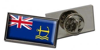Royal Maritime Auxiliary Service Rectangle Pin Badge