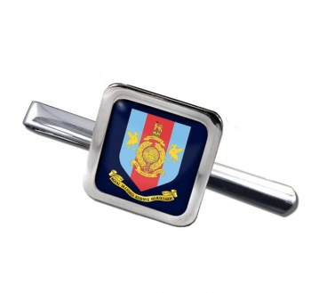 Royal Marines Reserves Merseyside Square Tie Clip