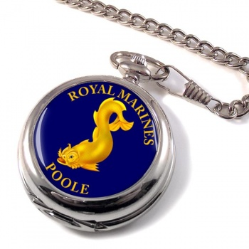 Royal Marines Reserves Poole Pocket Watch