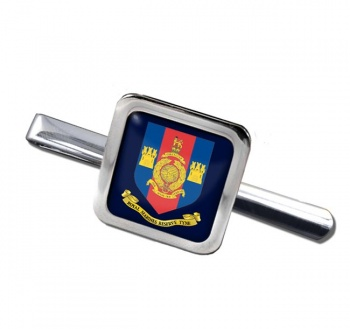 Royal Marines Reserves Tyne Square Tie Clip