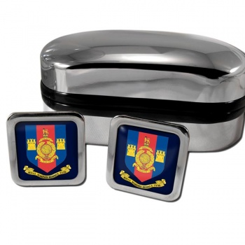 Royal Marines Reserves Tyne Square Cufflinks