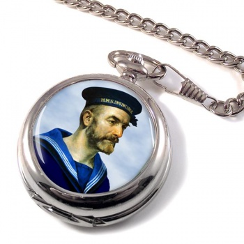 Royal Navy Sailor Pocket Watch