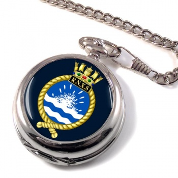 Royal Naval Auxiliary Service Pocket Watch