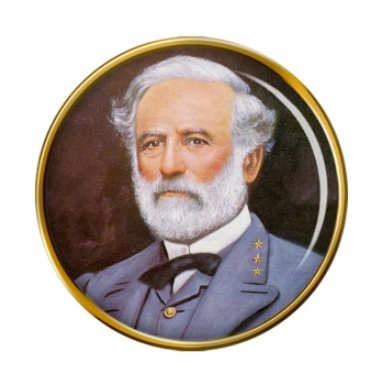 Robert E Lee Pin Badge