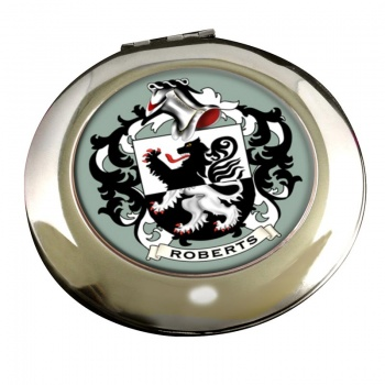 Roberts Coat of Arms Chrome Mirror