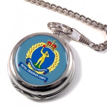 Royal Observer Corps (Royal Air Force) Pocket Watch