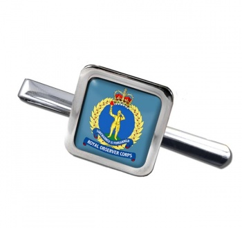 Royal Observer Corps (Royal Air Force) Square Tie Clip