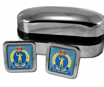 Royal Observer Corps (Royal Air Force) Square Cufflinks