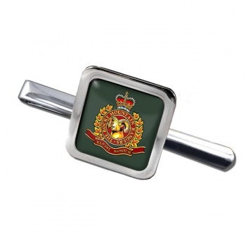 Rocky Mountain Rangers (Canadian Army) Square Tie Clip