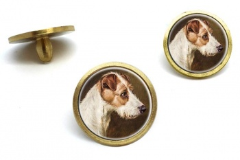 Wire Fox Terrier by Colin Graeme Roe  Golf Ball Marker Set