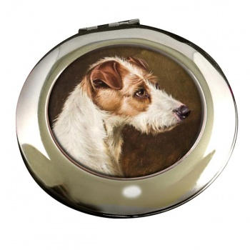 Wire Fox Terrier by Colin Graeme Roe Mirror