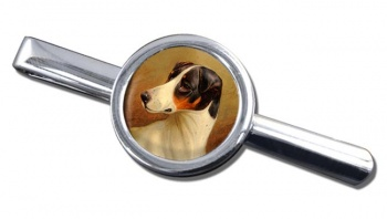Head Study of a Fox Terrier by Colin Graeme Roe Tie Clip