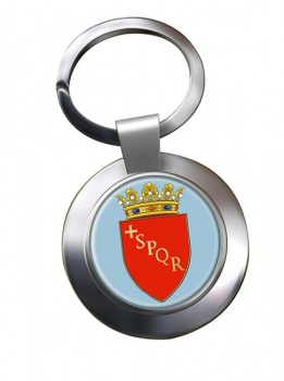 Roma (Italy) Metal Key Ring