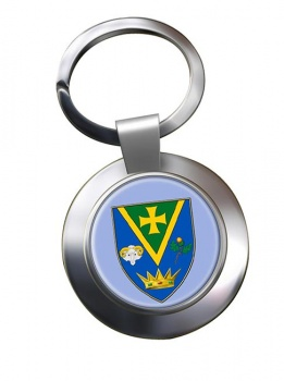 County Roscommon (Ireland) Metal Key Ring
