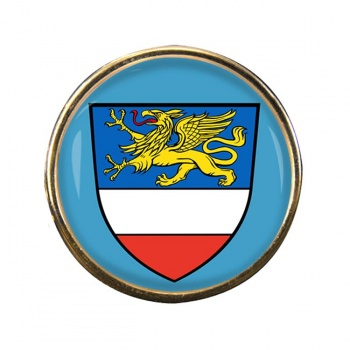 Rostock (Germany) Round Pin Badge