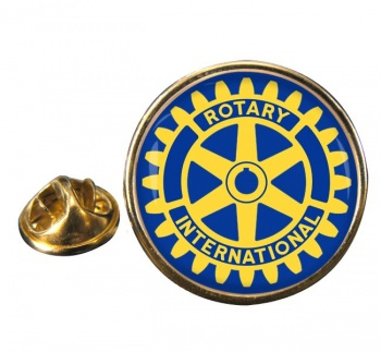Rotary International Round Pin Badge