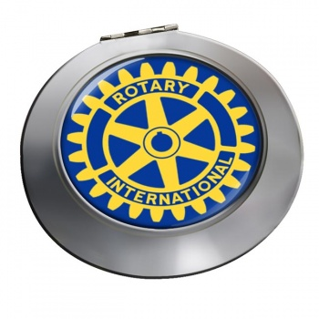 Rotary International Chrome Mirror