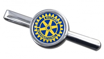 Rotary International Round Tie Clip